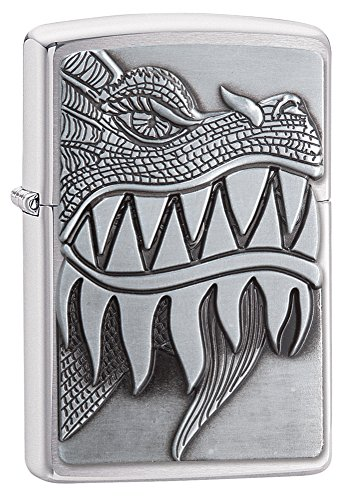 zippo-fire-breathing-dragon-emblem-brushed-chrome-pocket-lighter