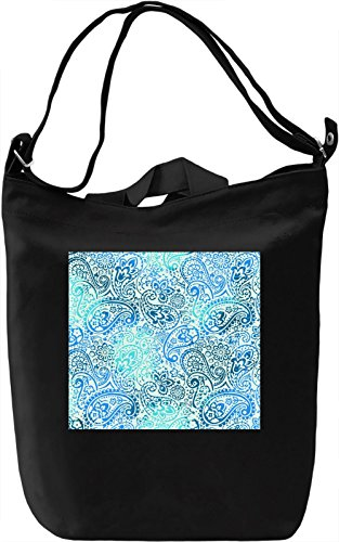 Modern Print Borsa Giornaliera Canvas Canvas Day Bag| 100% Premium Cotton Canvas| DTG Printing|