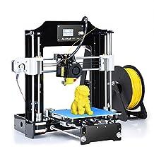 ALUNAR 3D Printer Prusa I3 Kit Self Assembly MINI DIY Desktop FDM 3D Learning for School Kids Education