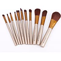 Techicon Naked3 Makeup Brushes Kit with A Storage Box - Set of 12