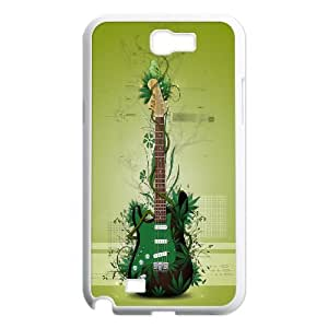 High quality guitar and music series Case Cover Best For Samsung Galaxy Note 2 Case FKLB-T509129