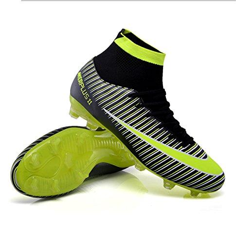 Formation Football Plein Adultes Lsgego Professionnelles Bottes Spike Noir Chaussures Foot Adolescents Hautes Air Sport Pour De zEwAqwS