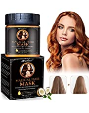 Hair Masks, Conditioning Hair Mask, Deep Conditioning Hair Mask, Moisturizing Hair Treatment Therapy, Deep Repair for Dry Damaged Hair and Scalp, 5 Seconds to Restore Soft Hair