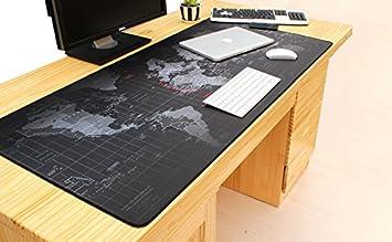 Desconocido Original Producto Super Grande 800 * 500 * 3 mm China Mapa ratón Almohadillas Antideslizante Teclado, Ordenador portátil, Mac Gaming Mouse Pads: ...