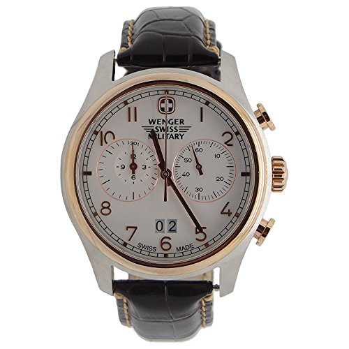 Wenger Swiss Army Rose Gold Zermat Chronograph Watch 79020