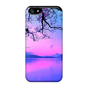 Shock-dirt Proof A Heavenly Sunset Case Cover For Iphone 5/5s