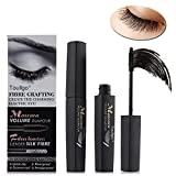 3D Fiber Lash Mascara, 3D Fiber Mascara, Fiber Lash Mascara, Natural Ingredients Mascara For Thickening & Lengthening Natural Lashes, Waterproof, Smudge Proof & Non-Toxic Hypoallergenic