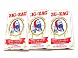 slow burn rolling papers - Pack of 3 32 Papers Per Pack Kutcorners Cigarette Rolling Papers by Zig Zag USA