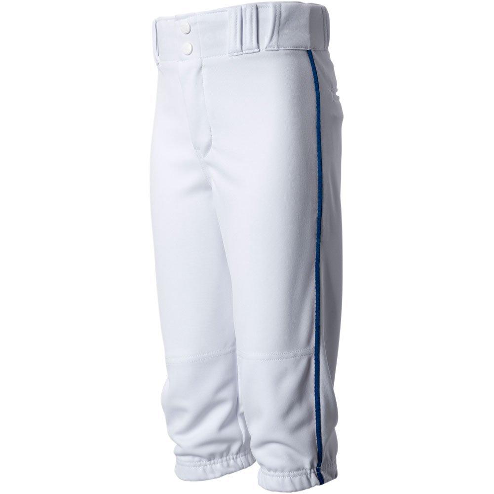 Champro大人用Triple Crown Braided Knicker野球パンツ B072BQ479D XL|White|Navy White|Navy XL