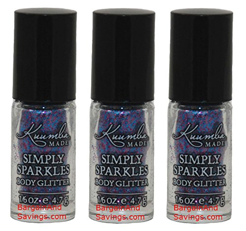Simply Sparkles - Indigo 0.6 oz each(pack of 3)