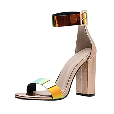 D'été Été Talons Chaussures De Sandales Femme À Zzzz Y7yvbgf6