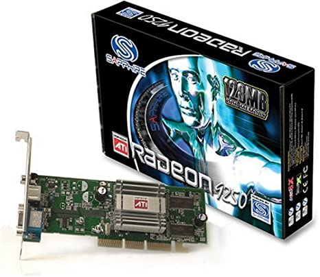 Powercolor radeon 9250 / 256mb ddr / pci / vga / dvi / tv out.