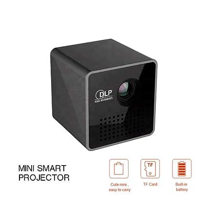 DZSF Proyector Mini P1 Plus portátil, fácil de Transportar ...
