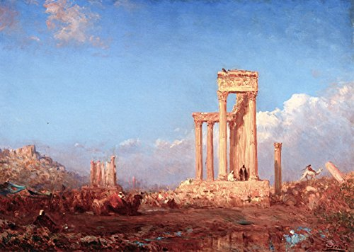 Collection Palmyra (Felix-Francois-Georges-Philbert Ziem Ruins, Palmyra Private collection 30
