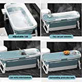 Zdorzi 54inch Portable Bathtub for Adults and