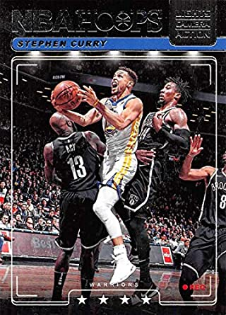 01adc292 2018-19 NBA Hoops Lights Camera Action Retail Insert #1 Stephen Curry  Golden State