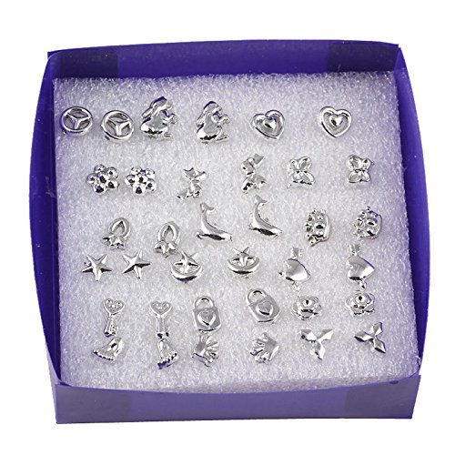 18-pairs-lot-mixed-styles-925-sterling-silver-studs-earring-platinum-jewelry