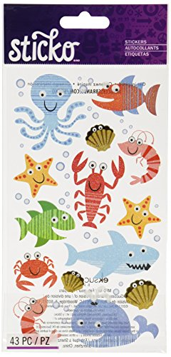 Sticko Sea Life Fun Stickers