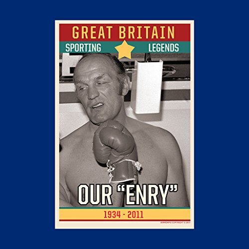 0dc9746a28 60% de descuento Sporting Legends Poster Great Britain Henry Cooper Boxer  Our Enry 1934 To