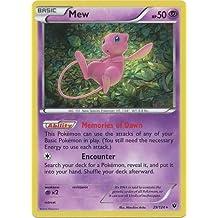 Pokemon - Mew (29/124) - XY Fates Collide - Holo