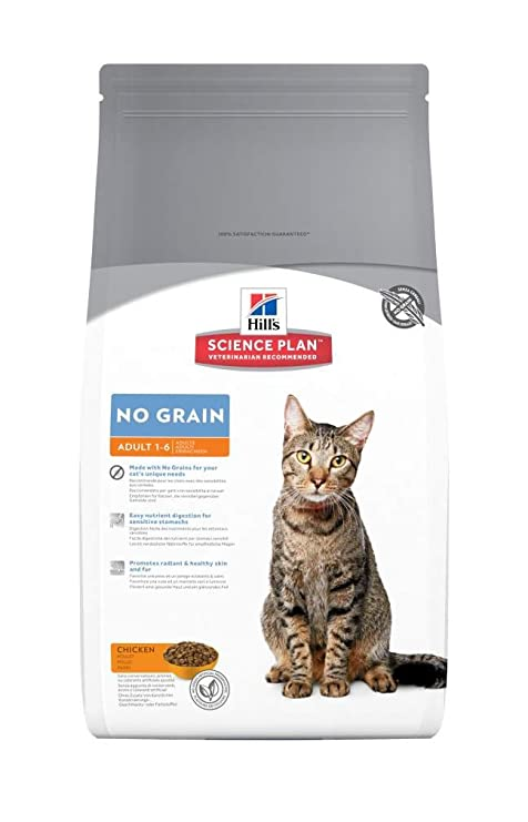 Hills - Pienso para Gatos Adultos Science Plan no Grain ...