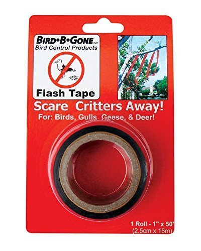 Bird B Gone 1ft. X 50ft. Animal Repellent Flash Tape Roll  M
