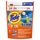Tide PODS Plus Febreze Sport Odor Defense Laundry Pacs, Active Fresh Scent, 26 count, Designed For Regular and HE Washers (Packaging May Vary)