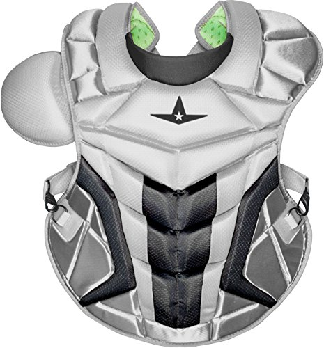 All-Star Adult System 7 Axis Chest Protector Silver