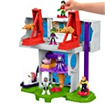 Fisher Price Imaginext Teen Titans Go! Tower Playset