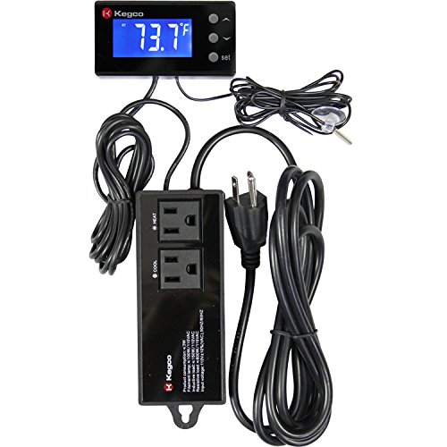 Kegco RTC-2 Digital Thermostat Power Control Unit