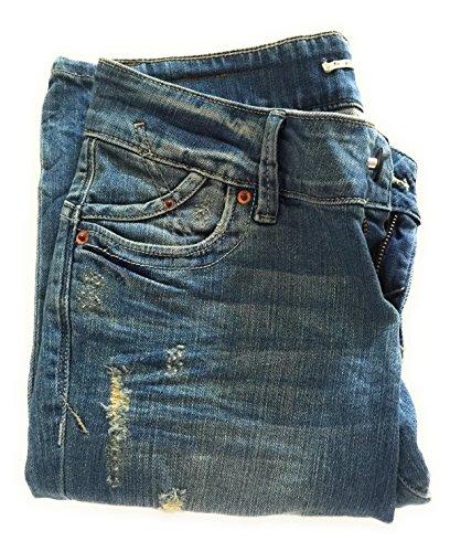 ET IT Photo A Effet LA Jeans STROPICCIATO DE Taille DE 38 Strappi PARTIR 34 FnqgEg47
