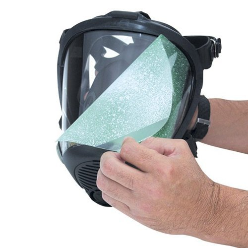 SAS Safety 1400-95 PEEL-OFF LENS COVERS, FULL FACE RESPIRATOR (25 per pkg./priced per pkg.)