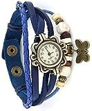 Koko Analogue Beige Dial Women's Watch butterfly10