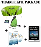 Trainer Kite Package: HQ Rush IV Pro 2.5 Meter + Kitesurfing Book (Bundle) New 2015 Model