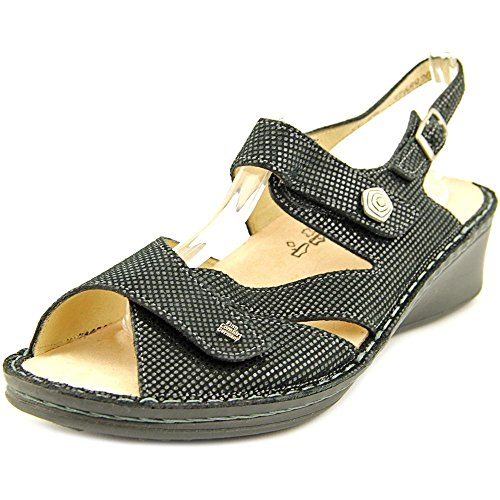 Finn Comfort Women's Santorin Soft,Black Points,US 7.5 M by Finn Comfort