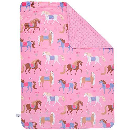 - Wildkin Plush Blanket, Horses