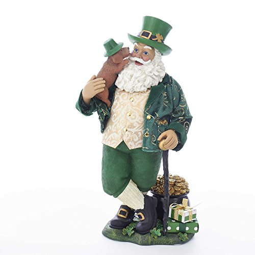 Wind Figurine Up Musical Santa - Kurt S. Adler 11