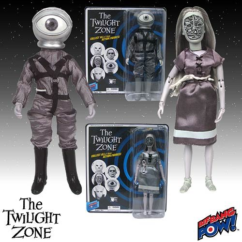 The Twilight Zone Cyclops and Alicia Action Figures Bif Bang Pow!