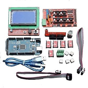 LCD12864 RAMPAS 1.4 Junta 2560 Driver Kit de Control R3 Junta ...