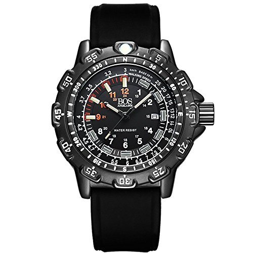 BOS-Mens-Army-Military-Luminous-Wrist-Sport-Multi-function-Watch-Silicone-Band-8015