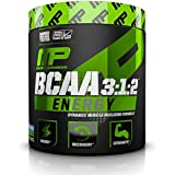 MusclePharm Amino Energy, 6 Grams of BCAA Powder, with Caffeine and Green Tea, BCAA Energy for Pre Workout or Anytime Energy, Blue Raspberry, 30 Servings