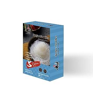 YUHO Shirataki Konjac Angel Hair Pasta, 8 Pack Inside, Vegan, Low Calorie Food, Gluten Free, Fat Free, Keto Friendly, Zero Carbs, Healthy Diet 53.61 Oz (1520 g)