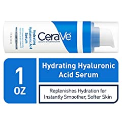 Developed with dermatologists, CeraVe Hyaluronic Acid Serum replenishes skin's hydration while helping to improve the appearance of dry lines for instantly smoother, softer skin. This refreshing gel-cream formula contains 3 essential ceramide...