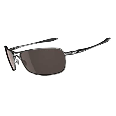 oakley crosshair polarised brown chrome sunglasses  oakley men crosshair 2.0 sunglasses, polished chrome/vr28 black iridium, one size