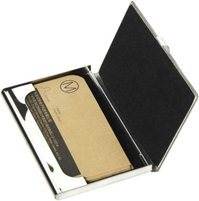Incroyable syst/ème solaire espace porte-cartes de visite cas dr/ôle de carte de visite affaire professionnel en m/étal 3,81 x 2,7 X 0,29 pouces m/étal porte-cartes cas de vente