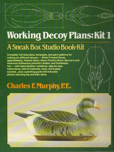 (Working Decoy Plans: Kit 1)
