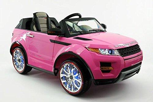 pink range rover power wheel - 2