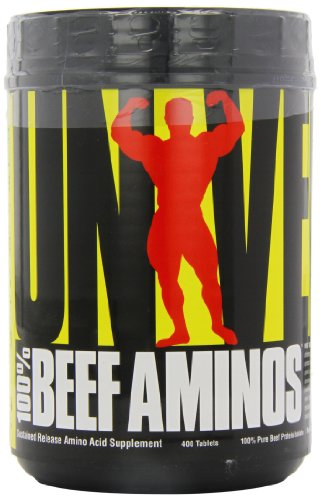 Universal Nutrition 100% Beef Aminos, 400 Tablets by Universal Nutrition