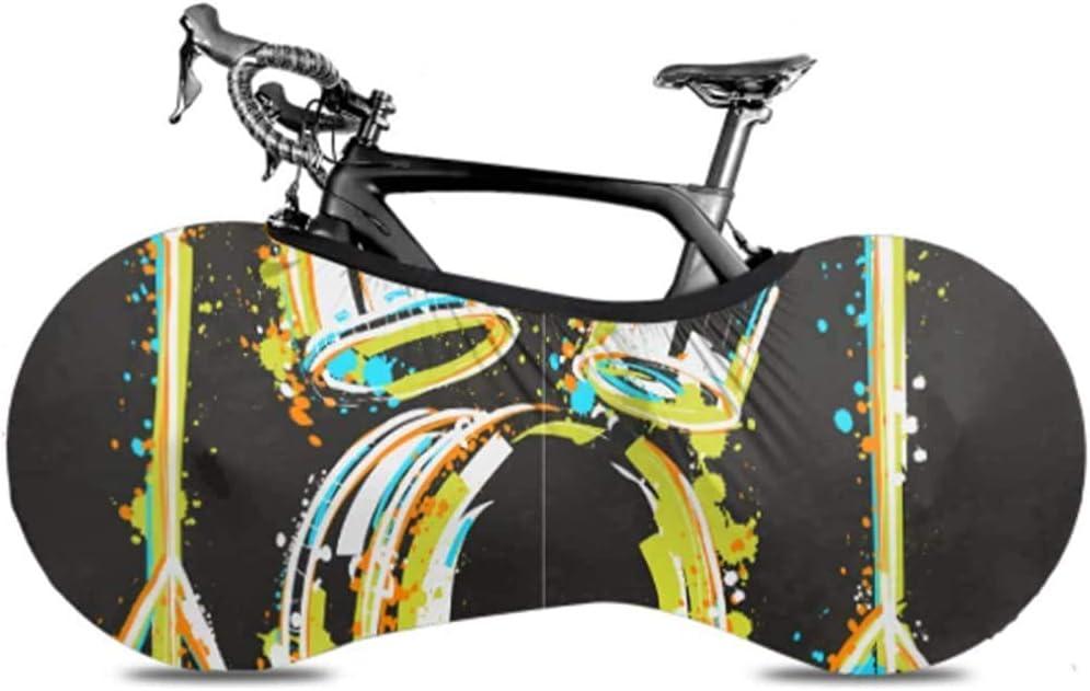 Xiaoyinghua Cubierta de Rueda de Bicicleta, Bolsa de Almacenamiento de Bicicleta Antipolvo, Kit de batería salpica Estilo Colorido
