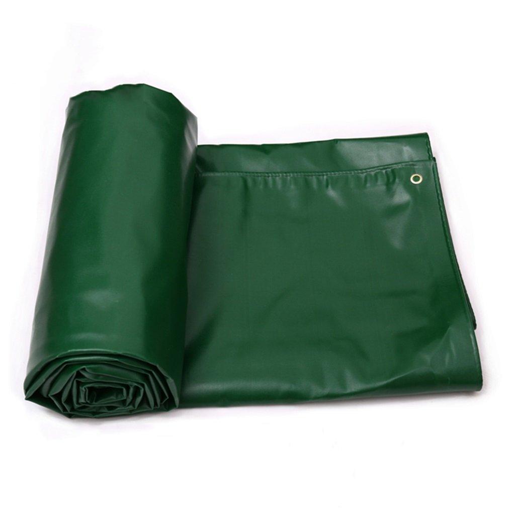 LIYin Tenda Impermeabile per Veicoli Pesanti da Campeggio e da Esterno - Protezione UV, 650 g m², Spessore 0,7 mm, Opzioni Multi-Formato (verde) (Dimensioni   4MX4M)